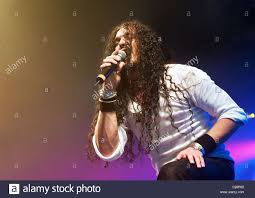 ZP Theart of Dragonforce performing on the last night of their UK Stock  Photo - Alamy