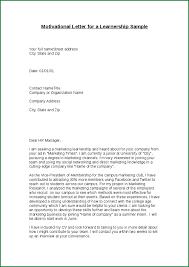 Free Sample Of Motivation Letter For Learnership Motivation Letter
