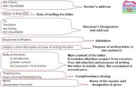Formal Letter Latest Format Format For Writing Formal Letters With Example Study Rankers