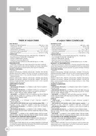Hy Clor Test Chart Timer At Aqua Timer At Aqua Timer Controller Hy Manualzz Com