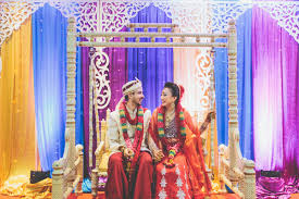jessica and chand s vibrant indian wedding celebration