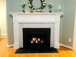 tiled fireplace surround modern fireplace tile fireplace surround decor remodeling