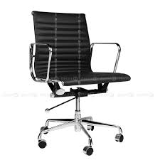 leather office chair modern. Decor8 Modern Furniture And Home Decor - Office Chairs Executive Mid- Back Aluminium Leather Chair