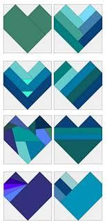 Best 25+ Heart quilt pattern ideas on Pinterest | Heart quilts ... & free patterns = many different Heart blocks by Sandi Walton at Piecemeal  Quilts Adamdwight.com