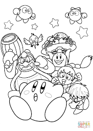 Small Picture Nintendo Kirby coloring page Free Printable Coloring Pages