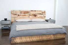 reclaimed wood king platform bed. Reclaimed Wood King Headboard Handmade Platform Bed Design Photo California