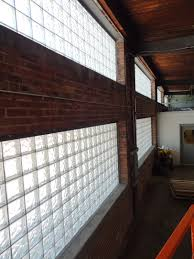 glass block industrial window