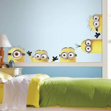 decorate with deable me 3 king minions giant wall decals