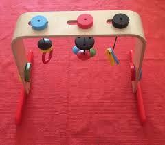 wooden baby gym ikea leka