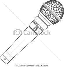 Microfoon Kleurplaat Mikrofon Kiddimalseite Kleurplatenlcom