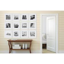 pinnacle gallery perfect 8 in x 8 in white collage picture frame set