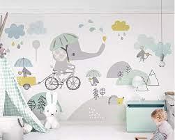 beibehang Custom wallpaper baby room ...