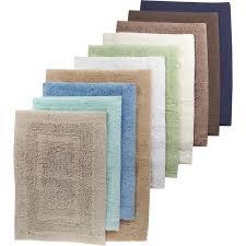martha stewart collection plush bath rug