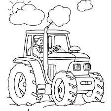 Disegno Trattore Da Coloraredisegno Attrezzi Agricoli Colorare