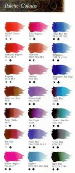 Jo Sonja Color Chart For Decorative Painters