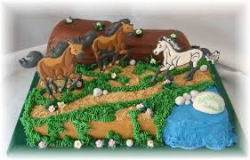 Wild Horses Cakecentralcom