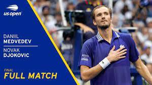 Daniil Medvedev vs Novak Djokovic Full Match