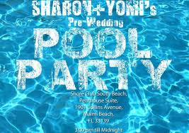 pool party flyer template blank. Modren Template Example Pool Party Invitation Template Inside Flyer Blank O