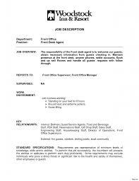 Hotel Front Desk Resume Sample Transform Hotel Front Desk Clerk Resume Sample For Your Of 11