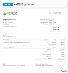 Pay Invoice Template How To Quickly Simplify Your Online Invoicing With Paypal