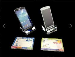 Cell Phone Display Stands 100 100mobile Phone Shop Special High Grade Acrylic Groove 38