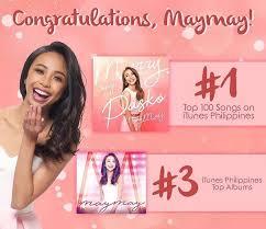 Itunes Philippines Album Chart Maymays Christmas Single Tops Itunes Ph Chart Starmometer