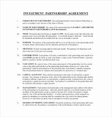 Small Business Partnership Agreement 59821585016 Business