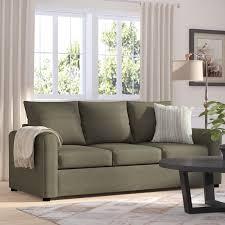 red barrel studio serta upholstery martin house modern sleeper sofa