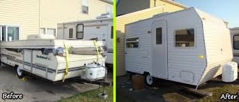 Diy travel trailer Build Diycampertrailerf Littlethings Diy Camper Trailer Built From An Old Popup On Budget Of 4500