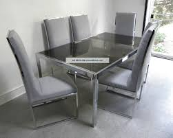smoked glass dining table and chairs d47 about remodel simple home interior design with smoked glass