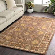 6 round rug lily brown 6 ft x 6 ft round indoor area rug 6 rugby