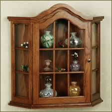 Living Room Cabinets With Doors Minimalist Classic Living Room With Brown Wall Mounted Curio