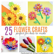 Paper Flower Craft Ideas 25 Gorgeous Paper Flower Crafts For Kids That Are Perfect