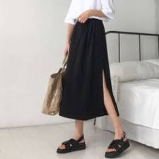 High waist plaid skirt a word skirt female summer <b>2018 new Korean</b> ...