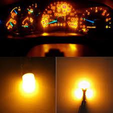 1997 F150 Dash Light Bulbs Amazon Com Wljh Amber Dashboard Instrument Cluster Panel