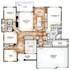 house plans for ranch homes the model plan features a compelling foyer and gallery create a