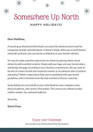 Customize 49 Santa Letter Templates Online Canva