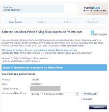 achat de miles air france pour payer un billet avion moins cher