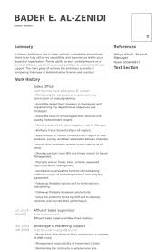 Sales Officer Resume Samples Visualcv Resume Samples Database
