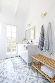 10 Ingredients You Need for a Chic Patterned Tile Bathroom Makeover