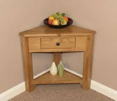 corner tables for hallway. Corner Console Table Telephone Lamp Hallway Plant Stand Hall Furniture Solid Oak Tables For T