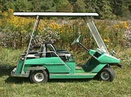 golf cart museum cushman golfcarcatalog com blog the cushman is best known for the little three wheel gas meter maid vehicles that plagued tardy shoppers as the maids wrote parking tickets