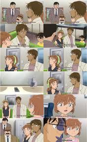 Ai has a crush on Higo, Episode 823, #DetectiveConan | Detective conan,  Manga detective conan, Conan