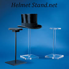 Motorcycle Helmet Display Stand Mesmerizing Display Stands For Helmets And Hats