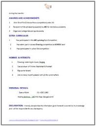 resume for computer science computer engineering resume format for freshers 2 career