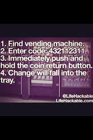 Vending Machine Code Hack Impressive Life Hack 48 By Souna Mtr Meme By Souna Mtr Memedroid