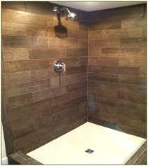 best wood tile shower ideas on rustic ceramic in walk showers images bathroom wal