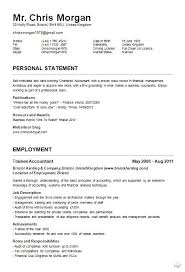 Example Of A Cv Resume - Shalomhouse.us
