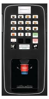 Hot Drinks Vending Machine Amazing CRANEICON Bean To Cup Hot Drink Vending Machine Business Vending