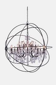 elegant 42g42db rc pendants geneva dark bronze lighting